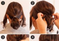 Stylish pony up how to make short hair look full in a ponytail Cute Ponytails For Short Hair For School Inspirations