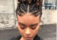 Stylish q natural hair styles transitioning Braid Hairstyles For Short Curly Hair Inspirations