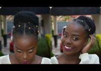 Stylish quick and easy protective styles for short natural hair Protective Styles For Short Natural Black Hair Choices