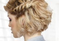 Stylish rock prom night with these 50 cool as you can get hairstyles Prom Hairstyles For Short Curly Hair Choices
