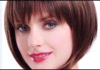 Stylish short bob hairstyles for fine hair with bangs Short Bob Hairstyles With Bangs For Fine Hair Inspirations