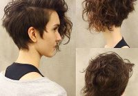Stylish short haircut for thick curly hair best short curly hair Styling Tips For Short Thick Hair Inspirations