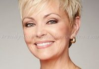 Stylish shorthairstylesover50 shortblondepixie http Short Hairstyles For Fifties Ideas