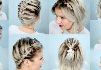 Stylish shoulder length hair braiding 15 easy to use instructions Hairstyles For Medium Hair Braided Choices