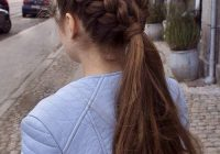 Stylish simple braided hairstyles for thick hair Braid Ideas For Long Thick Hair Inspirations