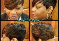 Stylish to fly cute hairstyles for short hair short hair styles African American Short Quick Weave Hairstyles Designs
