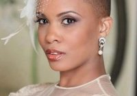 Stylish wedding hairstyles for brides with really short hair African American Short Wedding Hairstyles