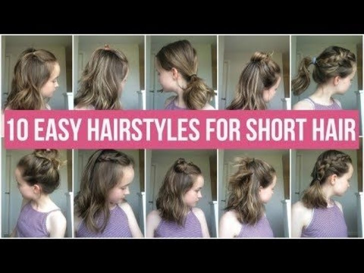 Permalink to 10 Awesome Easy To Do School Hairstyles For Short Hair Ideas
