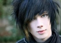 Trend 10 off centre scene hairstyles for funky guys cool mens hair Short Emo/Scene Hairstyles For Guys Ideas