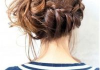 Trend 10 trendy messy braid bun updos popular haircuts Braided Buns For Long Hair Inspirations