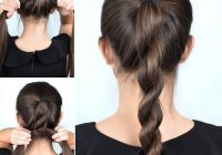 Trend 1001 ideas for cute easy hairstyles for school Cute Ponytails For Short Hair For School Ideas