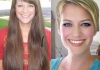 Trend 110 before after short hair photos long to short hair Long Hair With Short Hair Ideas