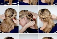 Trend 12 hottest wedding hairstyles tutorials for brides and Braid Updo Hairstyles Tutorial Choices