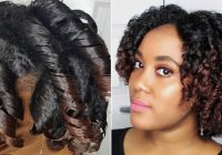 Trend 12 tips for a perfect roller set on natural hair Roller Set Styles For Short Hair Choices