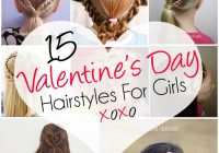 Trend 15 adorable valentines day hairstyles for girls i heart Picture Day Hairstyles For Short Hair Ideas
