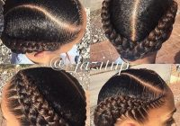 Trend 1767 likes 19 comments the nubian crown thenubiancrown French Braid African American Hairstyles