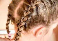Trend 20 quick and easy braids for kids tutorial included Hair Braiding Styles For Little Girl Ideas