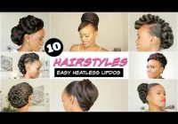 Trend 2018 spring summer natural hairstyles for black women Quick African American Hairstyles