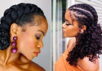 Trend 21 easy ways to wear natural hair braids stayglam Natural Hair Braiding Styles Inspirations