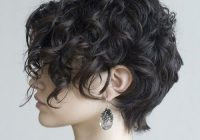 Trend 25 chic short hairstyles for thick hair in 2020 the trend Short Pixie Haircuts For Thick Curly Hair Ideas