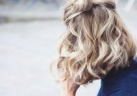 Trend 25 easy and cute hairstyles for curly hair southern living Easy Bun Hairstyles For Short Curly Hair Inspirations