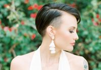 Trend 28 gorgeous wedding hairstyles for short hair this year Very Short Hair Wedding Styles Inspirations