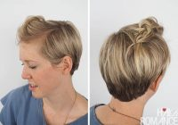 Trend 3 quick and easy ways to style short hair hair romance Short Hair Quick Styles Ideas