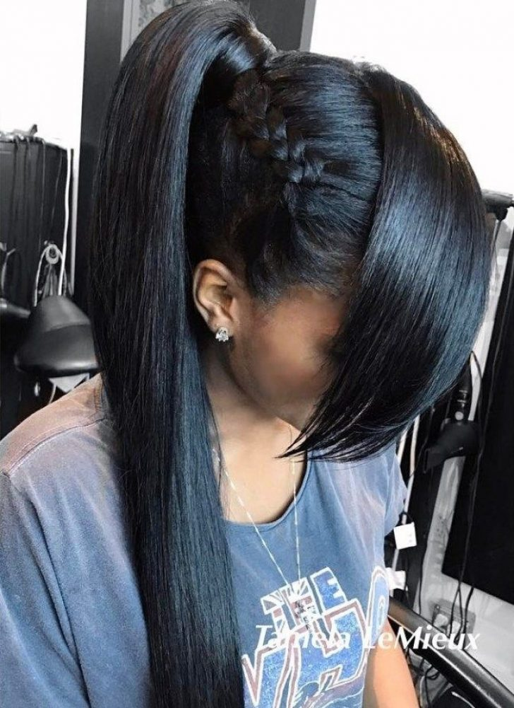 Permalink to 10 Elegant African American Hairstyles Ponytails Inspirations