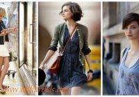 Trend 30 cute outfits that go with short hair dressing style ideas Style Suitable For Short Hair Ideas