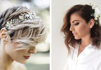 Trend 31 wedding hairstyles for short to mid length hair stayglam Short Hairstyles For Wedding Guest Choices