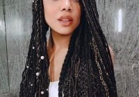 Trend 35 cute box braids hairstyles to try in 2020 glamour Box Braids Hairstyles Ideas