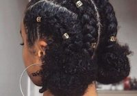 Trend 35 natural braided hairstyles Braids With Natural Hair Styles Inspirations