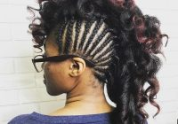 Trend 45 fantastic braided mohawks to turn heads and rock this season Mohawk Hair Braiding Styles Choices