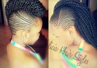 Trend 45 fantastic braided mohawks to turn heads and rock this season Mohawk Hair Braiding Styles Inspirations