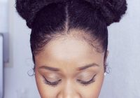 Trend 5 bun styles for natural hair that are perfect for summer Bun Hairstyle For African American Hair