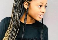 Trend 5 exotic crochet braids with ponytails hairstylecamp Braided Hair Ponytail Styles Choices