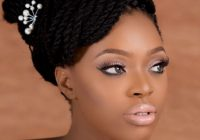 Trend 6 traditional white wedding beauty looks for the bold African American Braid Hairstyles For Weddings Designs