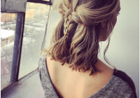 Trend 73 stunning braids for short hair that you will love Cute Hairdos For Short Hair Braids Inspirations