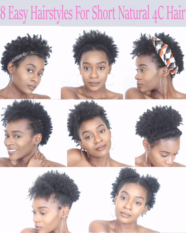 Permalink to 11 Beautiful Hairstyles For Very Short Natural 4c Hair