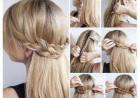 Trend 8party hairstyle for straight hair hair styles hairstyle Easy Braided Hairstyles For Straight Hair Choices