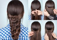 Trend 9 easy and simple braided hairstyles for long hair styles Different Styles Of Braids For Long Hair Inspirations