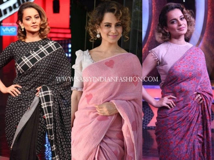 Permalink to 10 Elegant Hairstyle For Short Hair Wearing Saree