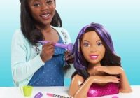 Trend african american black hair styling head and manicure nail African American Hair Styling Doll Head Ideas