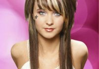 Trend asian mullet short layers on top and the rest one length Long Hair With Short Layers On Top And Side Bangs Choices