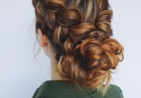 Trend best braided updo hairstyles for women with long thick hair Braided Updos For Long Thick Hair Ideas