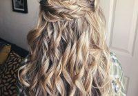 Trend braids half up half down in 2020 wedding hairstyles for Half Up Half Down Braided Hairstyles Pinterest Inspirations