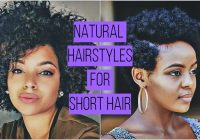 Trend cute natural hairstyles for short hair legitng Cute Hairstyles For Short Natural Hair Ideas