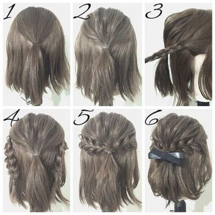 Permalink to 11 Awesome Easy Hairstyles For Short Hair Tutorials Gallery