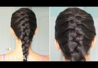 Trend how to basic french braid youtube French Hair Braiding Styles Choices
