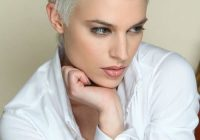Trend pin anna toscano on hair very short hair short hair Styling Really Short Hair Ideas